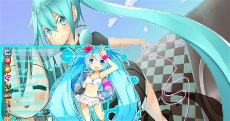 theme windows 10 hatsune miku hatsune miku theme windows 7 by yunz anime theme windows