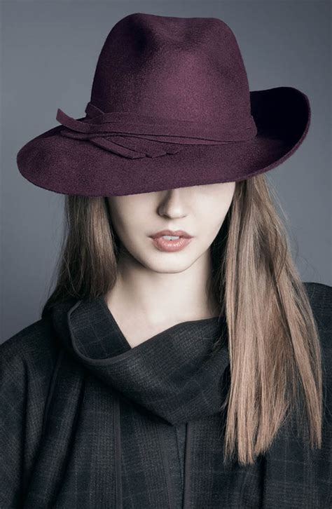 nordstrom wool fedora accessories trends