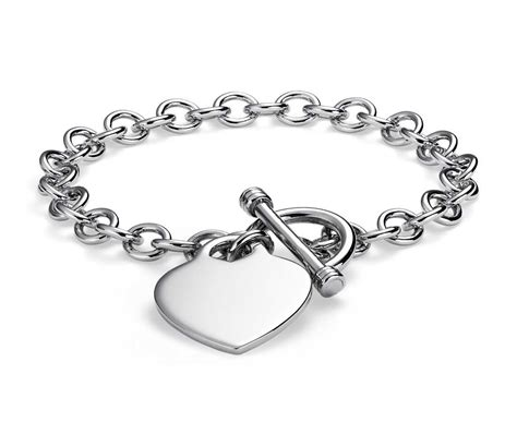 tag toggle bracelet in sterling silver blue nile