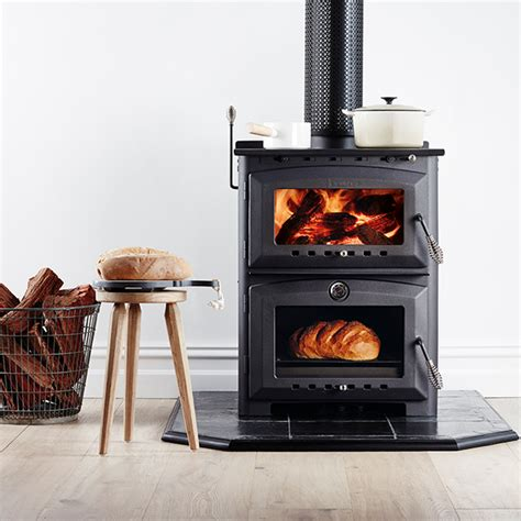 Scandia Fireplace by Heat Cook Scandia