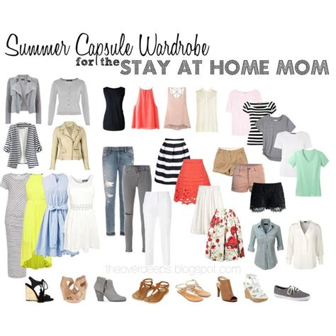 Wardrobe For Stay At Home by Best 20 Capsule Wardrobe Summer Ideas On