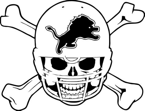 coloring pages detroit lions detroit lions pictures logo az coloring pages