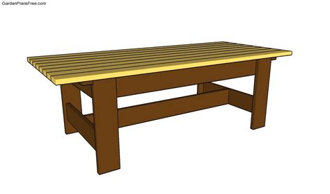 Free Coffee Table Plans Free Coffee Table Plans