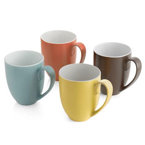 A Tea Coffee Cup namb 233 namb 233 pop colours mugs set of 4