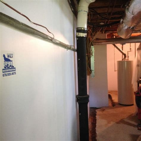 basement waterproofing atlanta open plan kitchens plastic