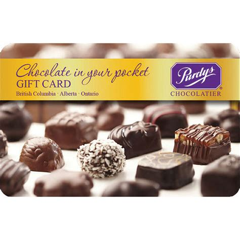 Panago Gift Card - purdys chocolatier 20 gift card more rewards