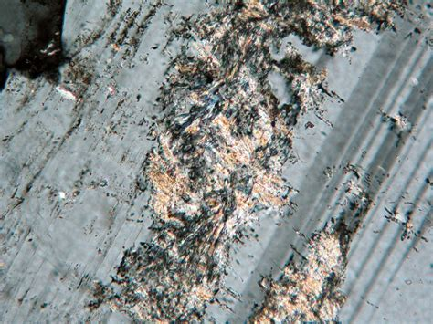 sericite in thin section sericite thin section
