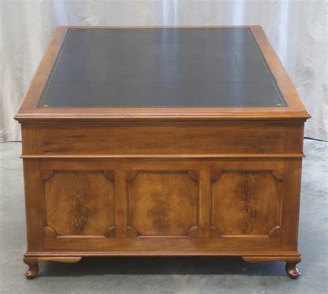 Partners Desk For Sale by Antique Large Mahogany Partners Desk 1019 For Sale