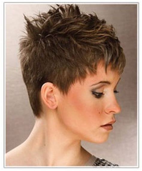 2005 hairstyles for 50 plus women short spiky hairstyles women hairstyle short spikey