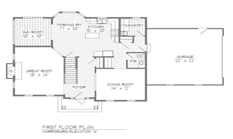 center colonial floor plan center colonial interior center colonial floor