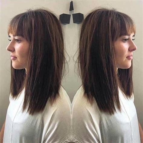 blunt lob haircuts long bob hair and makeup pinterest long bob bobs