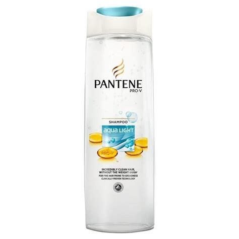 Pantene Shoo Aqua pantene pro v aqua light shoo 250ml shop supermarket