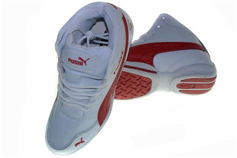 Sepatu All Merah Tinggi sepatu tinggi putih merah