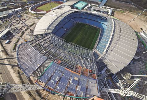 Design Custom Manchester City 001 south stand expansion etihad stadium steelconstruction org