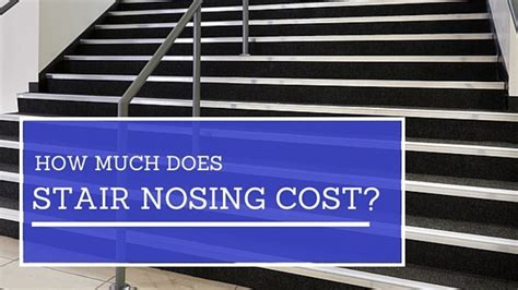 stair nosing cost