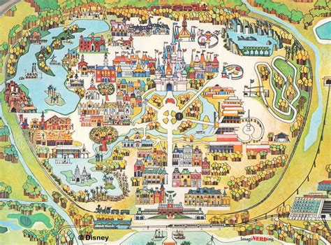 printable disney world maps magic kingdom maps galore imaginerding