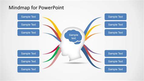 mind map diagram template  powerpoint slidemodel