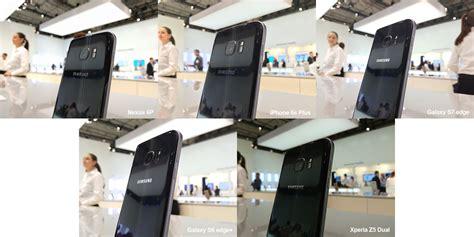 Kamera Edge perbandingan kamera galaxy s7 edge menentang telefon