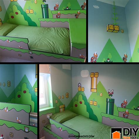 super mario bedroom ideas casa nerd quarto infantil super mario nerd da hora