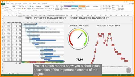 excel project management tracking templates introduction letter