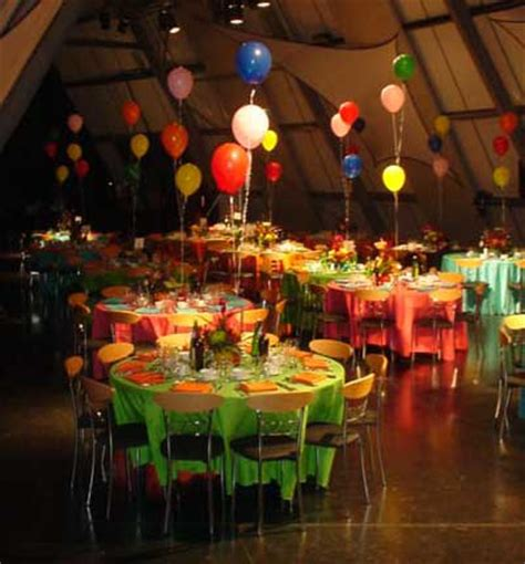 Colour Themes For Events | colours themed party