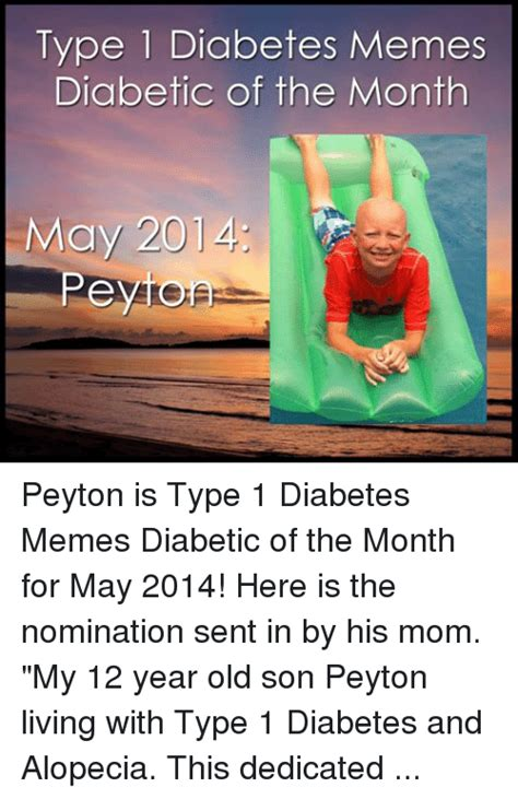 Type Memes - type diabetes memes diabetic of the month peytomsp peyton