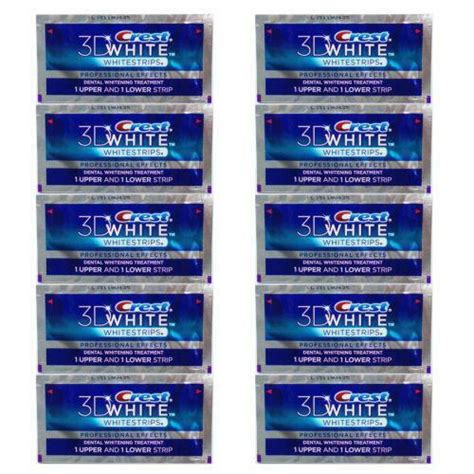 crest whitening strips supreme crest whitening strips teeth whitening ebay
