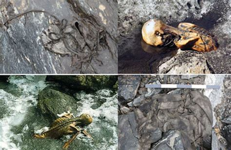 new year artifacts ancient artifacts and human remains surface as glaciers