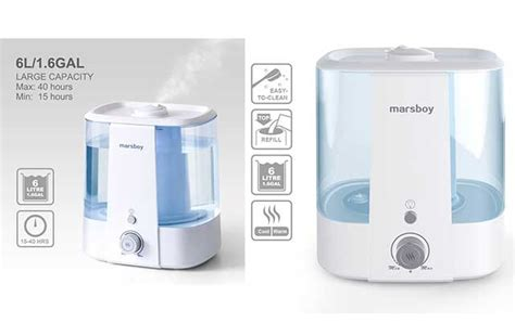warm mist humidifier review  small room