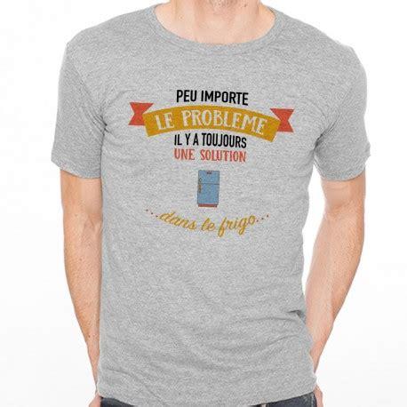 T Shirt Is Solution Y t shirt homme gris peu importe le probl 232 me il y a