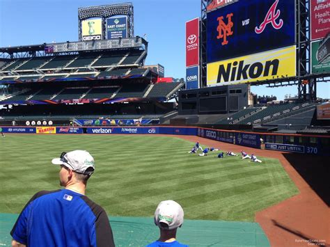 citi field section 105 rateyourseats