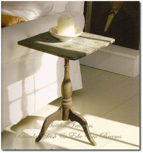 Candle Table by Swedish Tripod Tilt Top Candle Stand Tables