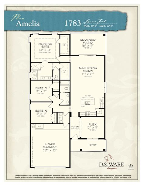 amelia floor plan amelia single family home jacksonville the dunes of amelia