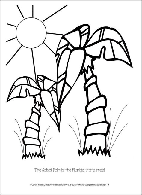 Florida State Animal Coloring Pages Florida Coloring Pages