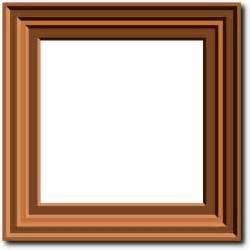 Clipart Photo Frame a photo frame clip at clker vector clip