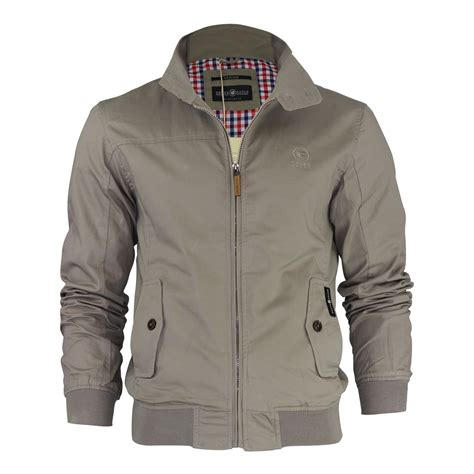 D F 01100699 Fashion Jaket mens harrington jacket crosshatch harrinz vintage retro