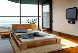 chambre � coucher en bois massif