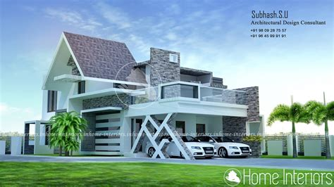2500 square foot house 2500 square feet 3 bhk double floor contemporary home design