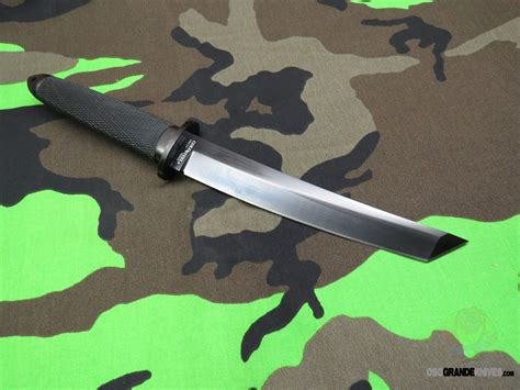 Cold Steel Magnum Tanto Ii Fixed 7 5 Inch Cpm 3v Black Dlc
