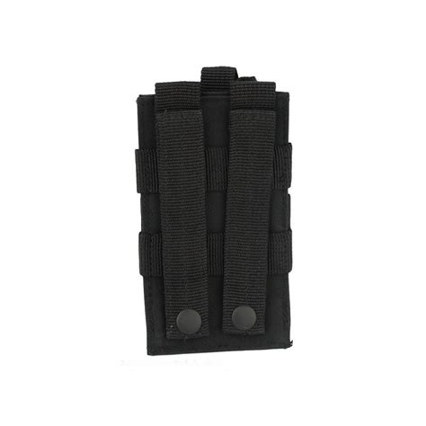 molle pouches black molle radio utility pouch black iron site airsoft shop