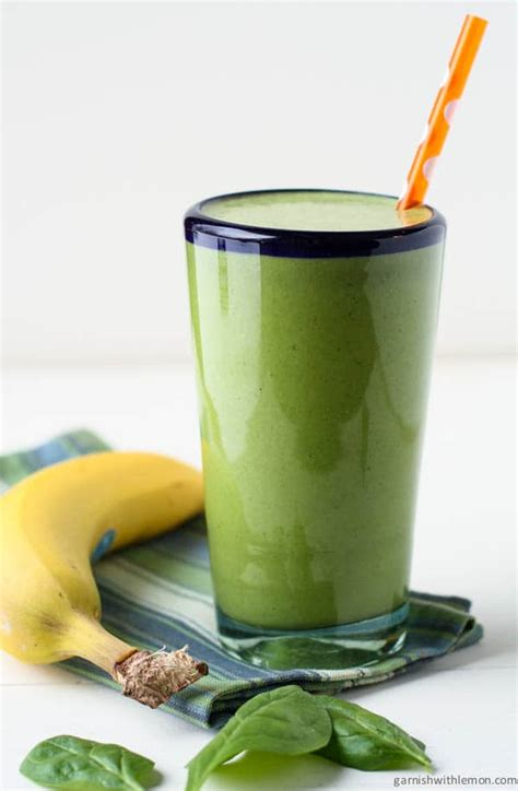 protein smoothies spinach banana protein smoothie recipe