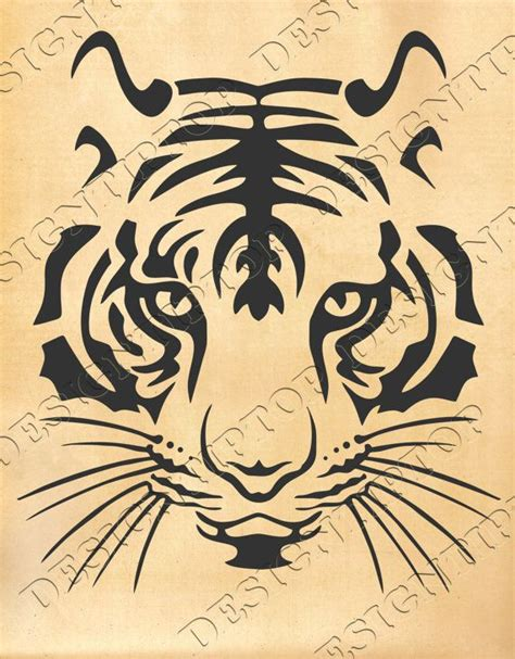 tattoo designs zip file best 25 tiger silhouette ideas on tiger