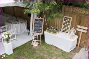 inexpensive backyard wedding ideas inexpensive small backyard wedding ideas home design ideas
