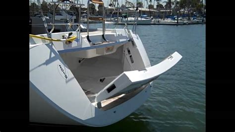 boat stern transom jeanneau 57 yacht sailboat electric stern transom preview