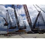 A Crane Lifting