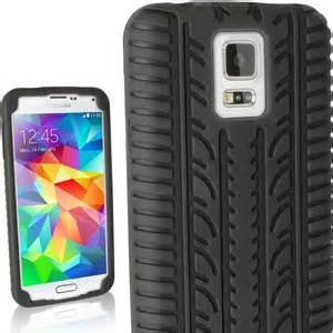 Desiderata Samsung Galaxy S5 Custom 1 black tyre silicone gel skin for samsung galaxy s5 sv