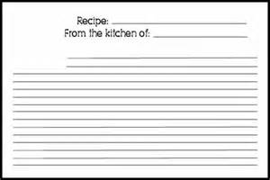 Recipe Index Template by Top 5 Resources To Get Free Recipe Card Templates Word