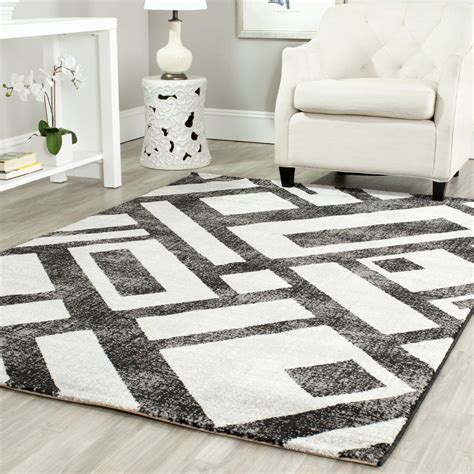 Black And Grey Area Rugs by Safavieh Porcello Prl3730b Black And Grey Area Rug Free