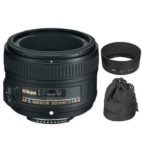 nikon digital lenses nikon af s nikkor 50mm f 1 8g lens for digital slr