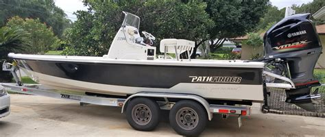 pathfinder aluminum boats pathfinder 2200 tournament boats for sale in florida